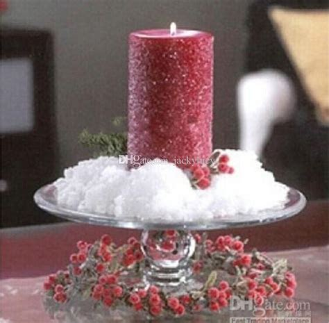 How To Make Artificial Snow For Decorations by Winter Wedding Theme Diy Artificial Snow Flower Powder