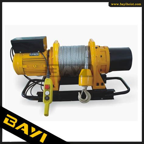 Winch Electric 1 Ton light duty electric winch 5 ton with power supply 220v 440v buy 5 ton electric winch electric