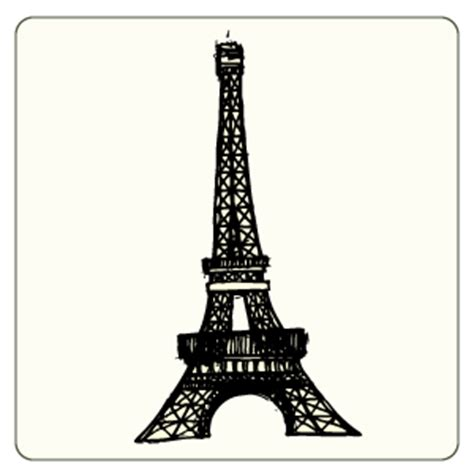 doodle tower doodle eiffel tower free vector clipart