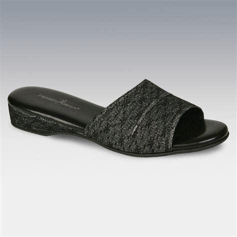daniel green slippers dormie daniel green womens dormie slipper slides in black silver