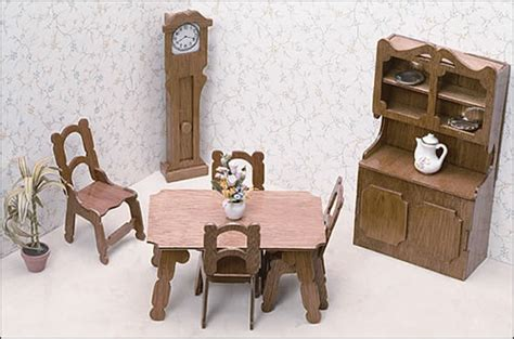 miniature doll house furniture miniature furniture kits dining room