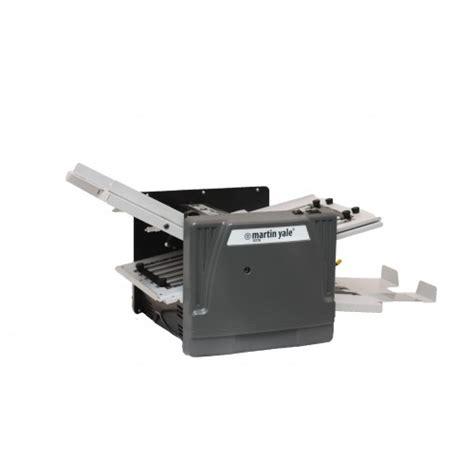 Automatic Paper Folding Machine - martin yale 1217a automatic paper folding machine