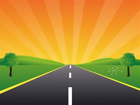 powerpoint template road you can free and road peace ppt backgrounds
