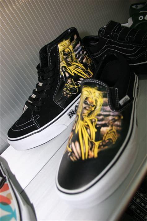 Sepatu Vans Iron Maiden zapatillas iron maiden