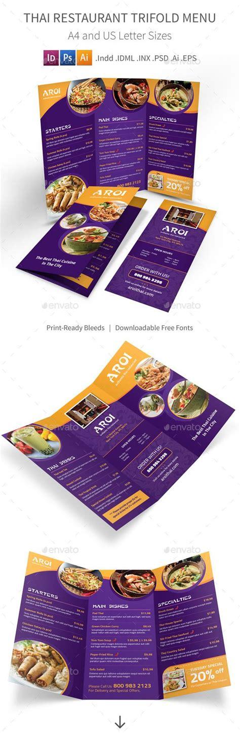 17 best ideas about thai restaurant menu on resturant menu modern asian and logo