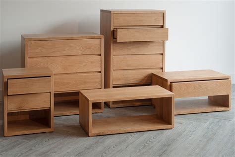 black and oak bedroom furniture black lotus oak low bedside drawer unit natural bed