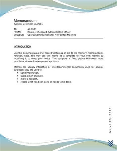 professional design memo template 10 best images of professional design memo business memo
