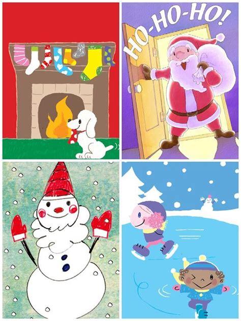 dibujos para tarjetas de navidad para ni241os tarjetas de navidad gratis para imprimir pequeocio