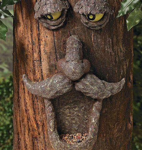 tree face tree face bird feeder shut up and take my money