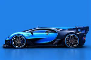 Bugatti Racing Cars Bugatti Vision Gran Turismo Racing Car Is Based On