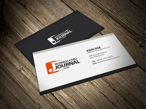 the best business cards templates 28 best free black and white psd business card templates