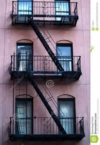 Apartment Escape Stairs Escape Ladder Stock Images Image 1772014