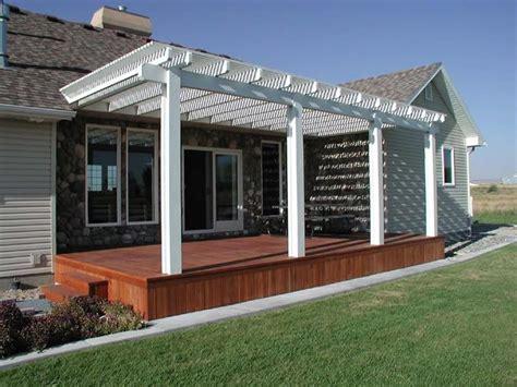 Carport Deck Combination carport deck combination knudson s alumawood pergola arbor lattice deck decks