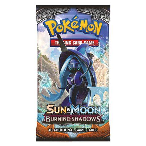 Tcg Sun Moon Booster Pack sun moon burning shadows booster pack the gamesmen