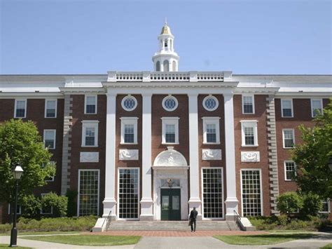 Mba School by Harvard Business School Profile Mba Admissions Consulting