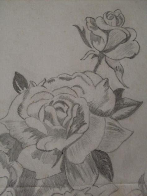 imagenes a lapiz de rosas flores dibujadas a lapiz imagui ecro car interior design