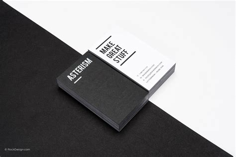 card template black and white free black and white business card templates rockdesign