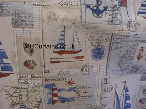 nautical fabric for curtains nautical by chatham glyn fabrics curtain fabric blue 163 9 99