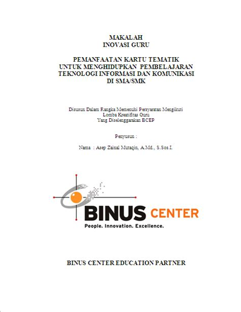 format proposal skripsi binus makalah zainal 171 a zainal mutaqin