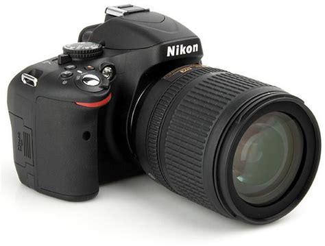 Nikon D5100 Lensa Kit 18 55mm nikon d5100 18 55mm lens kit 16 2 megapixels dslr black price review and buy in uae