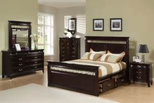 Queens Size Bedroom Sets Save Big On The Espresso Customizable Manhattan Panel