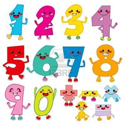 imagenes matematicas divertidas 14712041 conjunto de numeros divertidos dibujos animados y