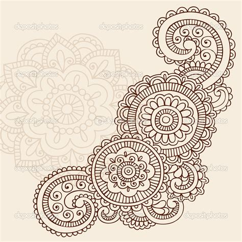 doodle tribal henna doodle search for