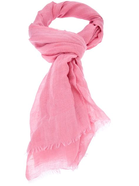 gucci scarf in pink lyst