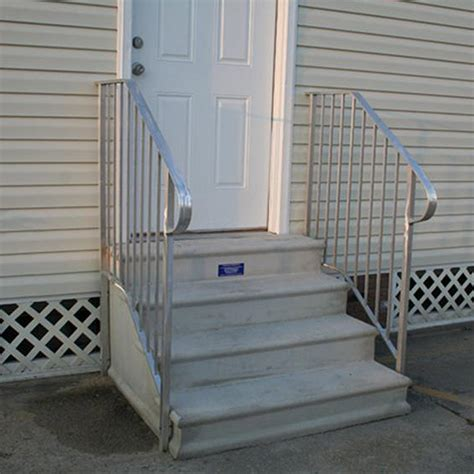 you mobile find the right mobile home steps or stairs for you