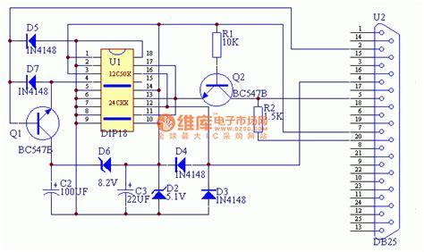 ic programmer circuit diagram self made pic microcontroller programmer circuit basic
