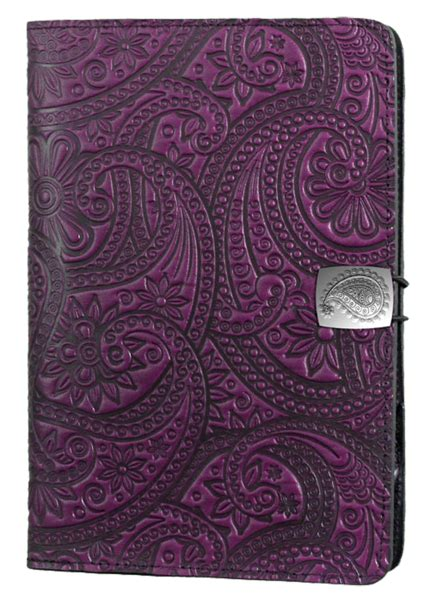 oberon design kindle cover leather covers and cases for amazon fire tablets paisley