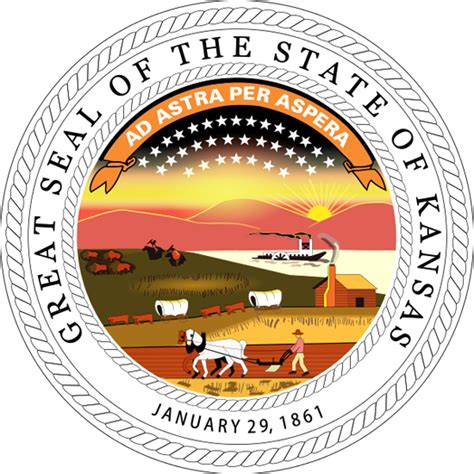 Kansas The 34th State by Kansas State Information Symbols Capital Constitution