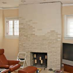kamin farbe painted fireplace makeover
