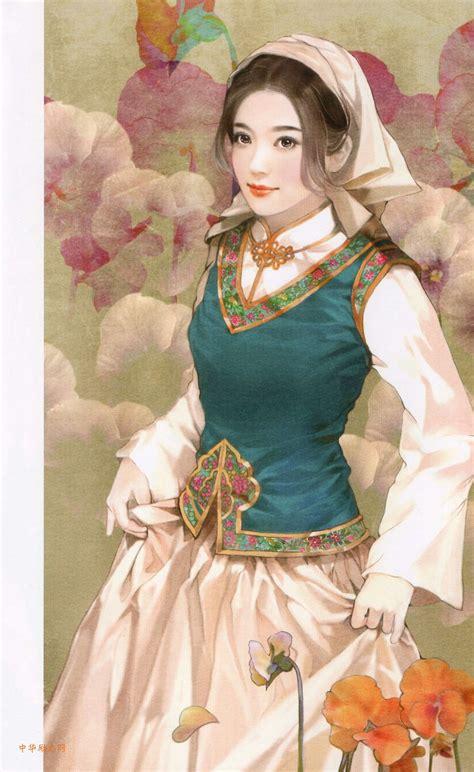 pics if women sgd 56 中国传统服饰文化与各民族美女传统服饰图片 全
