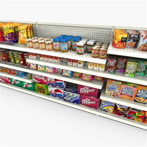 Grocery Store Shelf by Grocery Shelves Retail Max