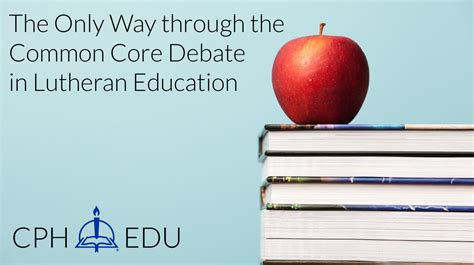 the way through the the only way through the common core debate
