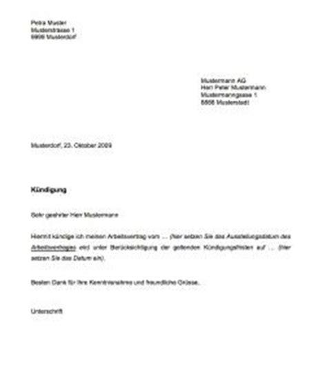 Vorlage Kündigung Arbeitsvertrag Wegen Mobbing Vorlage K 252 Ndigung Muster Und Vorlagen Vorlage