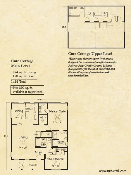 cute cottage floor plans kensington