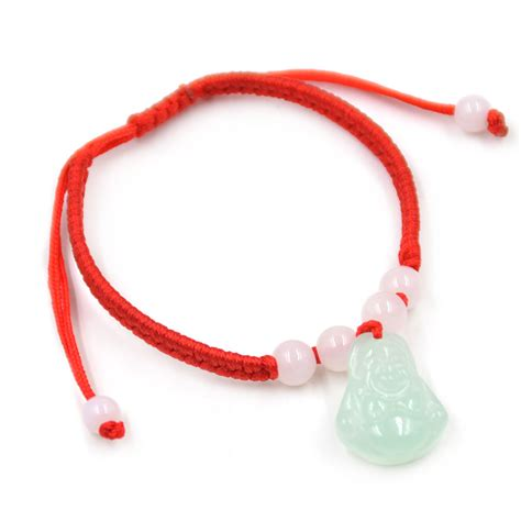 Three String Knot - lucky jade charms string knot bracelet