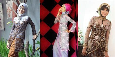 Kebaya Baju Wanita Bustier modes desainer dan penjahit busana kediri