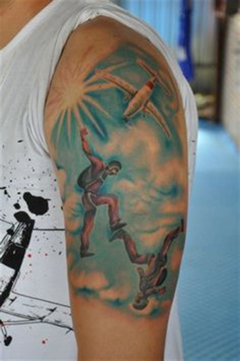skydiving tattoos 1000 images about skydive on skydiving