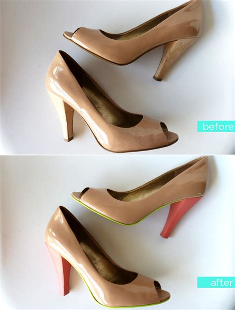 diy shoes makeover 15 fabulous diy shoe makeovers you put it on