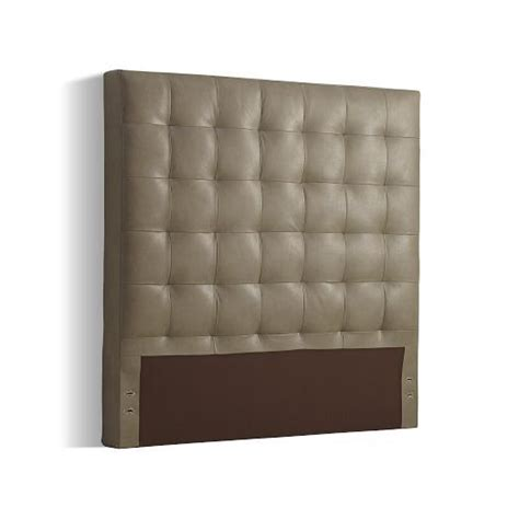 tall leather headboards tall leather grid tufted headboard