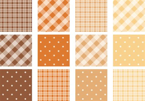 dot pattern vector pack plaid and polka dot pattern vector pack download free