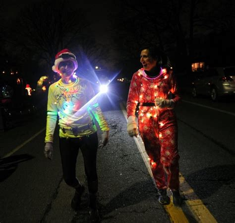 catonsville s holiday lights run snowballs into community
