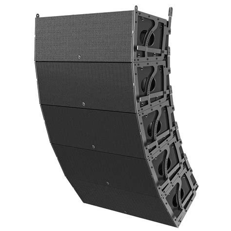 Speaker Line Array dual 12 quot 3 way 3600 watt powered large format line array loudspeaker atlasied