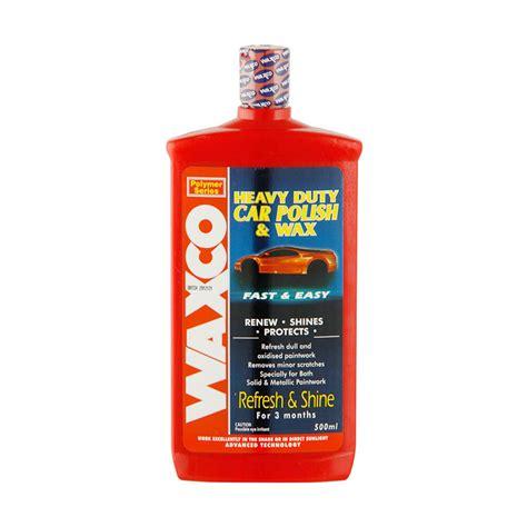 Waxco 2k jual waxco heavy duty car 500 ml harga