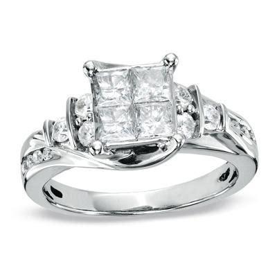 stunning zales engagement ring w lifetime