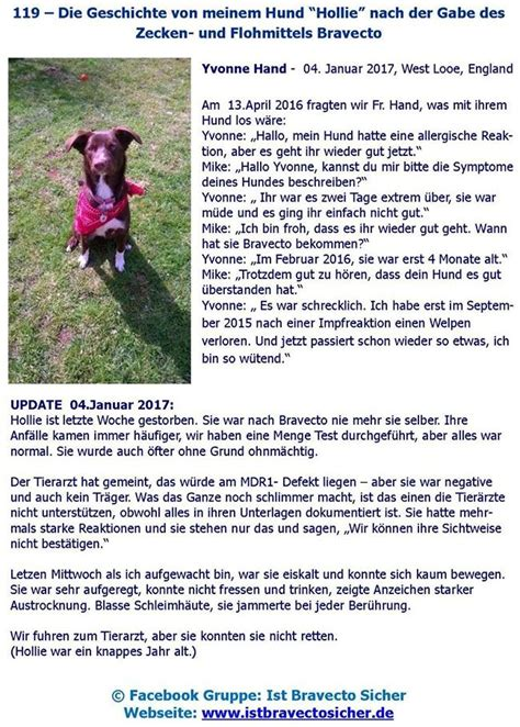 bravecto side effects in dogs ist bravecto sicher