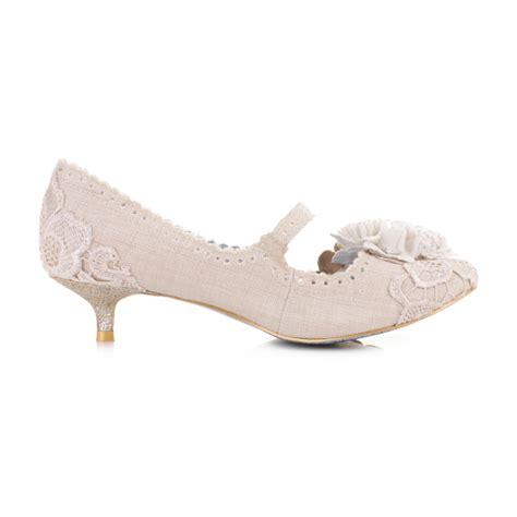 Footglove Black Suede Leather Court Shoes Heels low kitten heel shoes fs heel